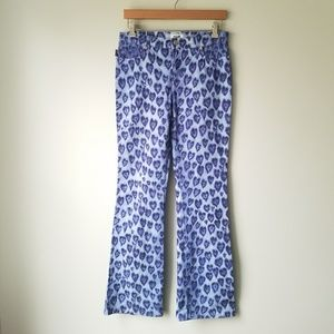 Moschino   Heart Print Jeans Size 28